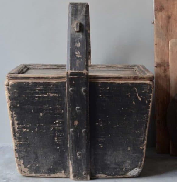 Cedante - opbergbak oud hout - Hippeshops