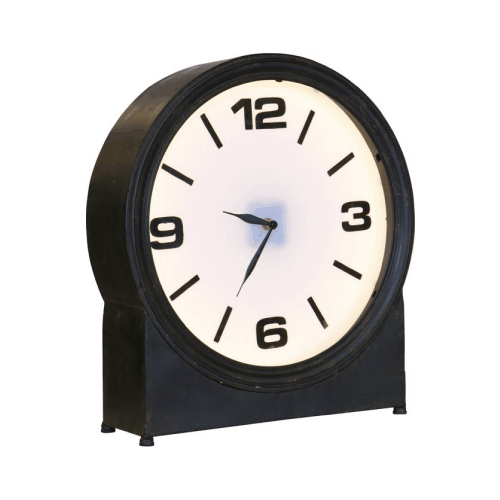 Style-over - ageless metal clock - hippeshops