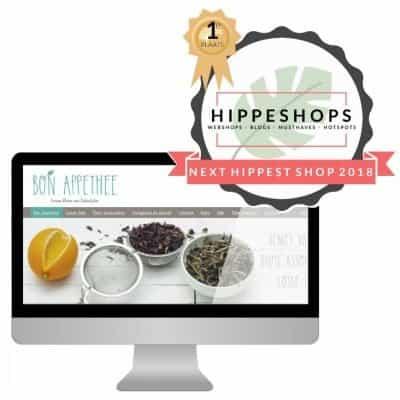 Bon Appethee wint de 'Next Hippest Shop 2018 Webshopverkiezing'