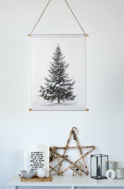 SIPP Interieurbanner Dennenboom bij webshop By Noth - Top 25 December Online Shopping Inspiratie voor Sint & Kerst