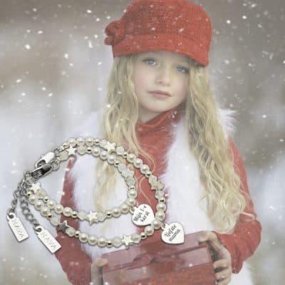 Zilveren sieraden voor moeder en dochter uit de kerstcollectie van KAYA