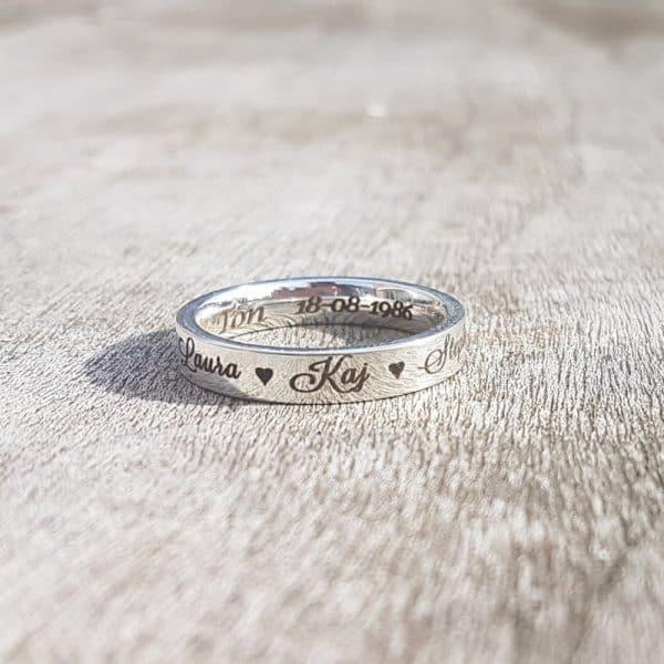 jaceys gepersonaliseerde ringen