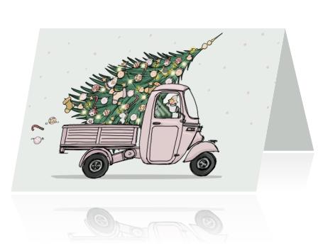 Met een kaartje sturen van MyCards in de donkere dagen voor kerst breng je jouw persoonlijke boodschap met aandacht over.