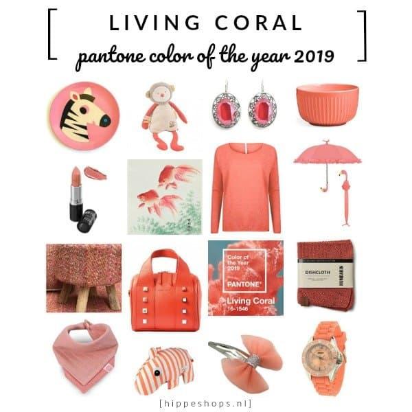 'Living Coral' is uitgeroepen tot Pantone color of the year 2019. Wij hebben de hipste color must haves voor je gespot in de trendkleur levendig koraal!