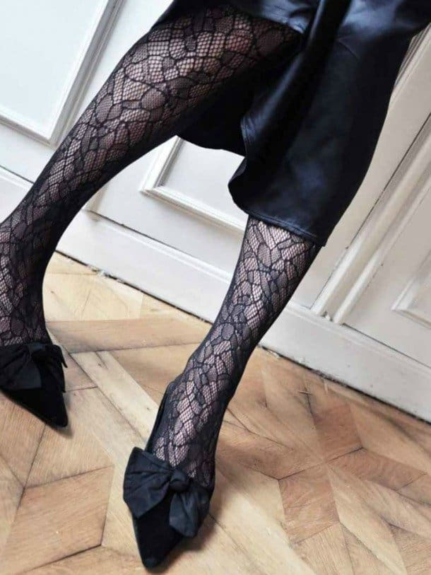 Swedish Stockings Edith Lace Panty, duurzaam: gerecycelde nylongaren