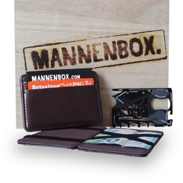 Magic-Wallet-ninja-wallet-pakket Mannenbox - Hippeshops