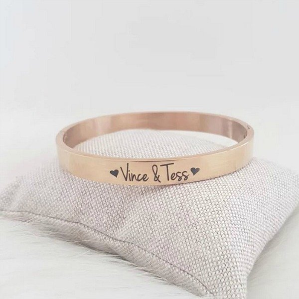 Mama armband met tekst | slavenarmband RVS (twv € 29,95)