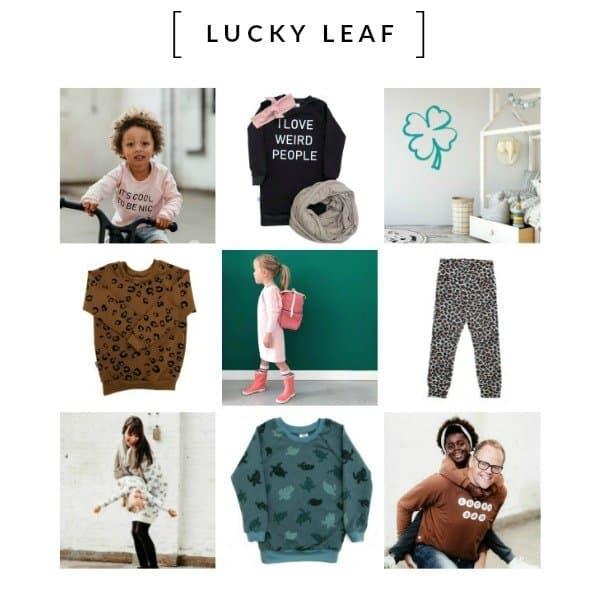 LUCKY LEAF - de Feel Good Brand voor duurzame kidskleding en lifestyle items met een missie