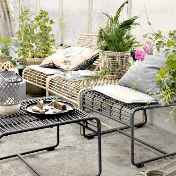 Lounge set voor tuin en terras van House Doctor [ByNoth.nl] Lentekriebels Top 10 buiten musthaves voor tuin en terras tuin trends 2019
