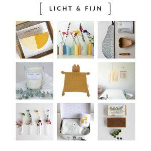 LICHT & FIJN Conceptstore: Licht voor de natuur en Fijn voor jezelf