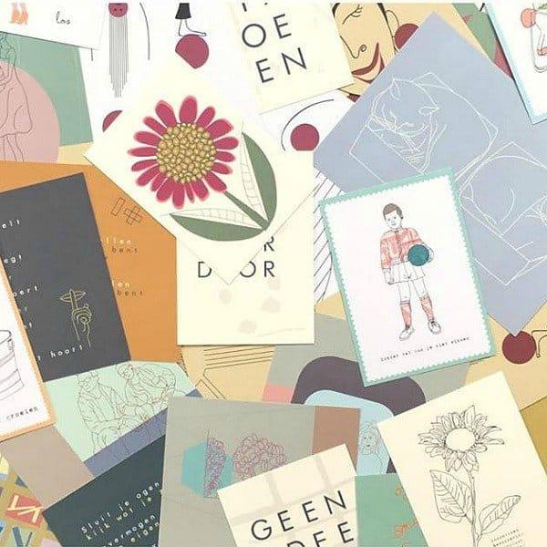 Studio Glans geschenkbon voor kaarten, posters en glanspost