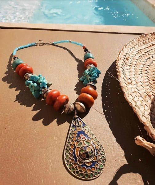 Berber kralenketting Sahara - Nieuwe collectie sieraden bij Boho Babe [Webshop Wannahave van de Week]