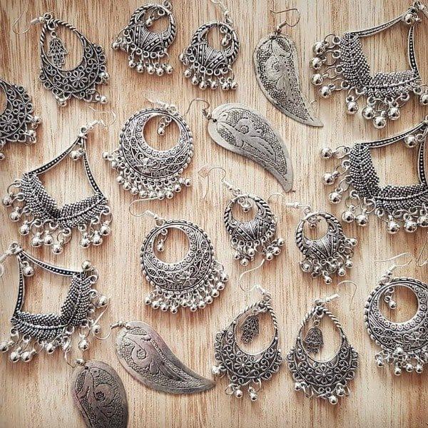 Boho oorbellen van berber zilver - Nieuwe collectie sieraden bij Boho Babe [Webshop Wannahave van de Week]