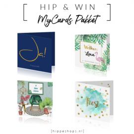 WIN: Pakket met 25 kaarten naar keuze van MyCards.nl
