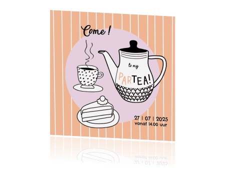 High Tea Uitnodiging - HippeShops MyCards