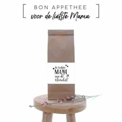 Moederdag cadeautip: Thee en meer voor de liefste mama van Bon Appethee