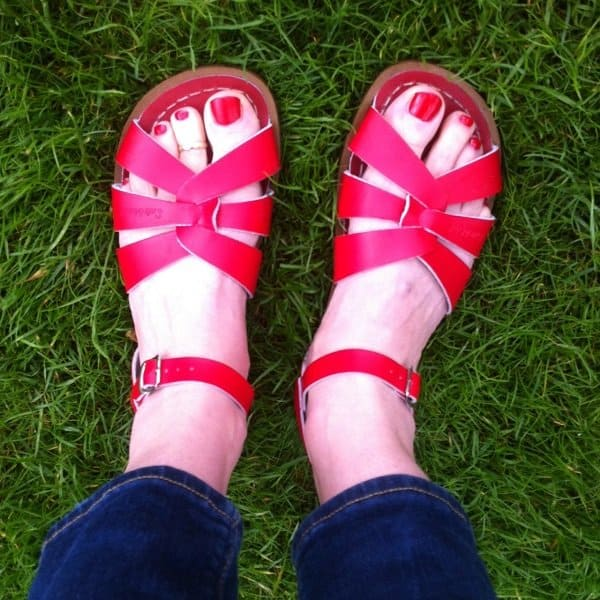 Salt water sandals - attic empire - Hippeshops