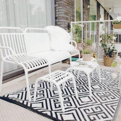 Trend: hippe tuinkleden voor balkon en terras
