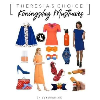 Vier Koningsdag in hip oranje en stijlvol rood, wit en blauw