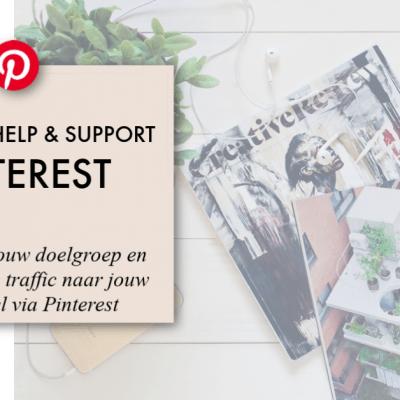 Pinterest voor webshops! Onmisbaar als marketingtool