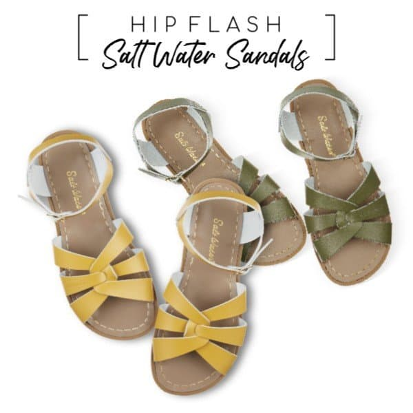 Salt-Water Sandals nieuwe trendkleuren mustard & olive bij AtticEmpire.com