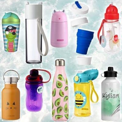 Met deze hippe drinkflessen wordt water drinken aantrekkelijk