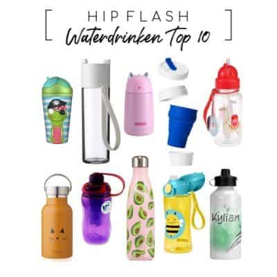 Met deze hippe drinkflessen gaan kids meer water drinken