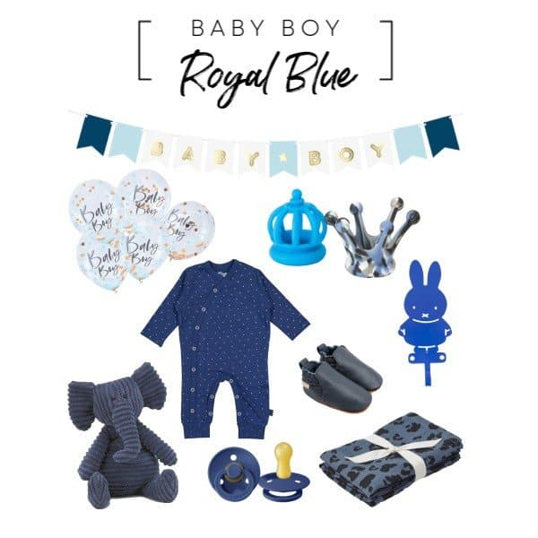 It's a Boy! Koninklijke Kraamcadeaus voor baby Archie