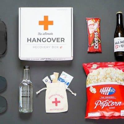 Hangover Recovery Box, een Vaderdagcadeau met een knipoog