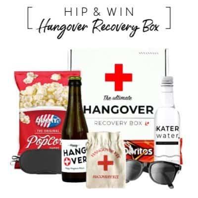 WIN: Hangover Recovery Box, een Vaderdagcadeau met een knipoog