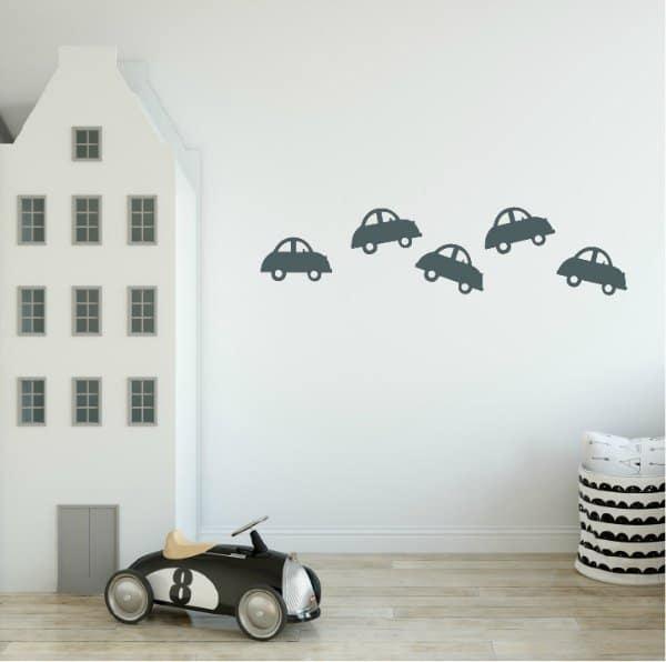 Muurstickers voertuigen auto LM Baby Art - De leukste muurstickers voor de allerkleinsten