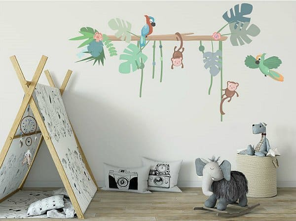 jungly jungle muurstickers