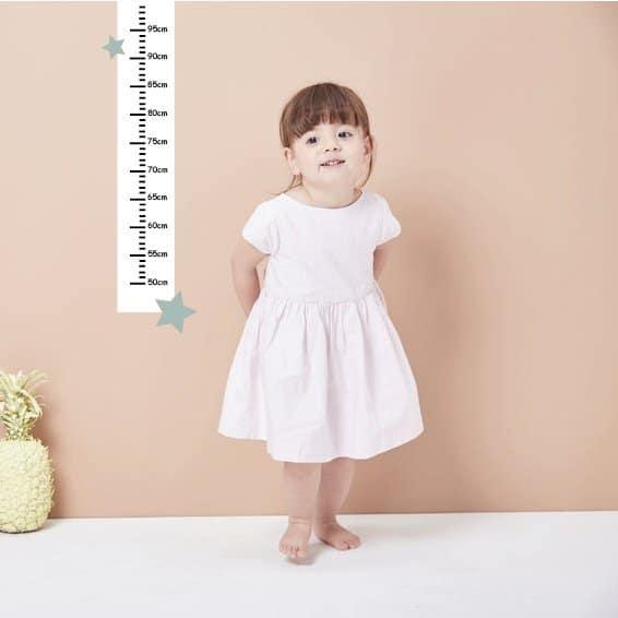 muursticker meetlat LM Baby Art - De leukste muurstickers voor de allerkleinsten