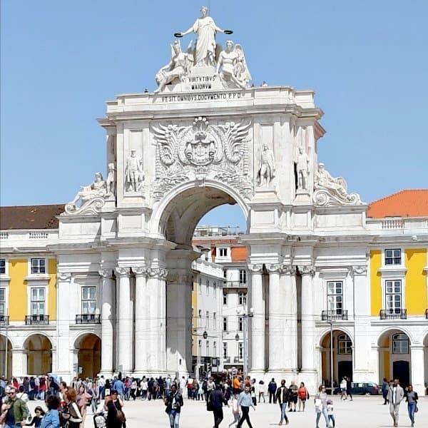 Lissabon-stedenstrips-Praca do Comércio