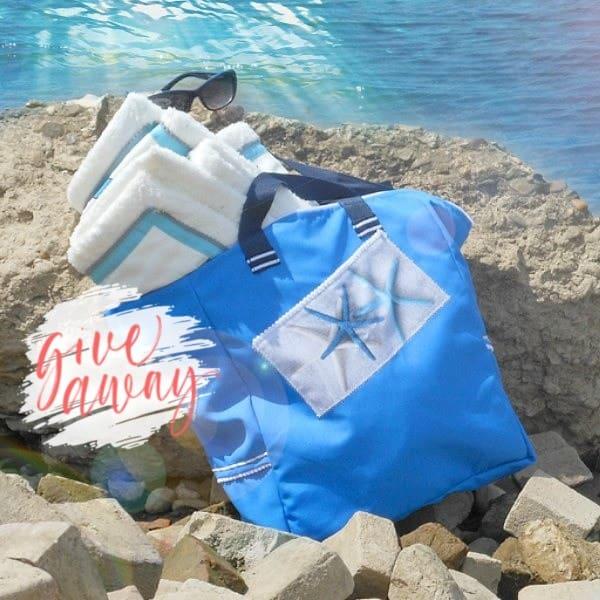 knuzz handgemaakte strandtas