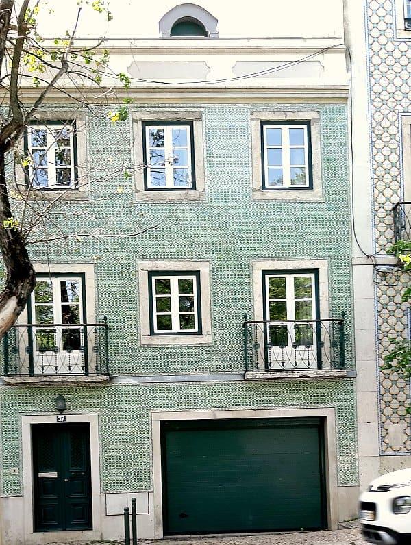 Betegelde huizen