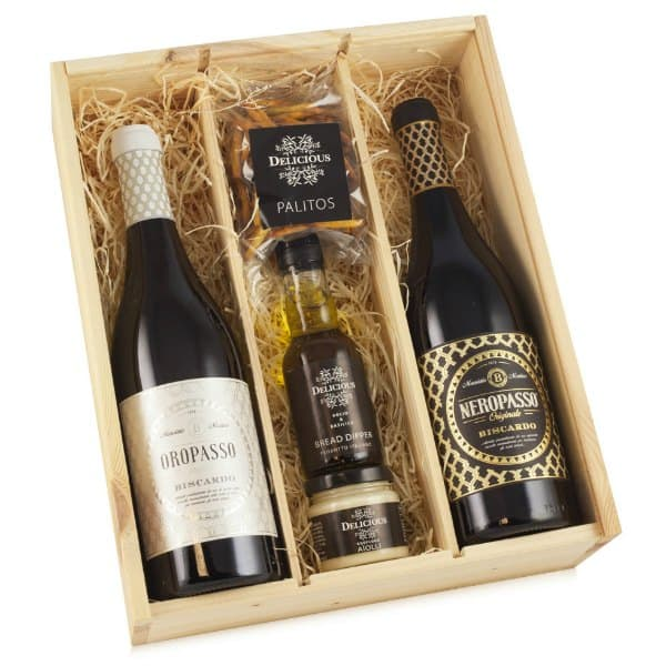 Cadeaupakket Delicious Neropasso Een exclusief cadeau bezorgen via Charles.nl Wine & Gifts