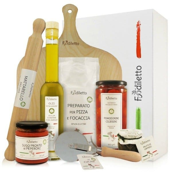 Foodiletto Pizza Giftbox Een exclusief cadeau bezorgen via Charles.nl Wine & Gifts