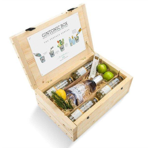 Gin Tonic Box Een exclusief cadeau bezorgen via Charles.nl Wine & Gifts