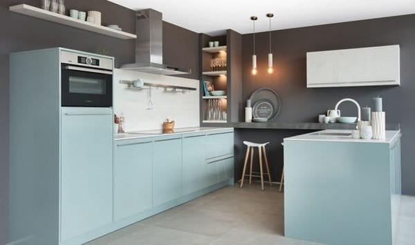 Tulp keuken fjordblauw