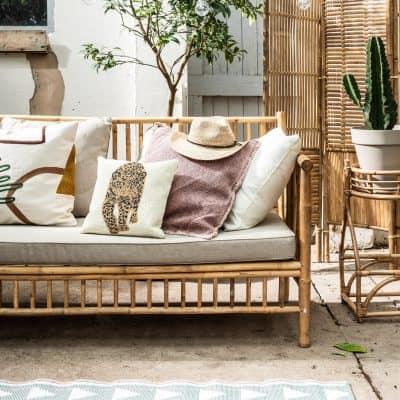 Zó creëer je een tropische sfeer met bamboe tuinmeubels
