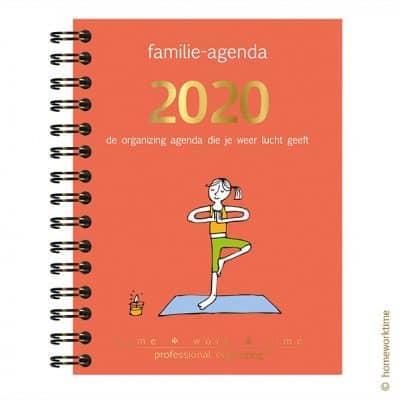 Homeworktime familie-agenda, de gezinsplanner die je weer lucht geeft