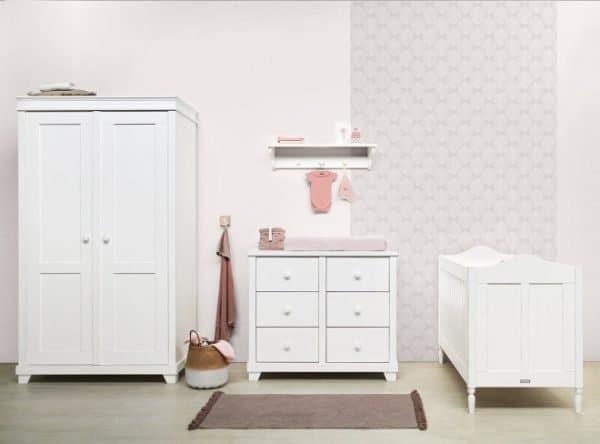 Country 3-delige babykamer vintage white