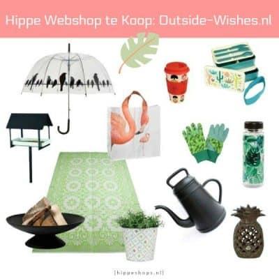 Hippe webshop te koop: Outside Wishes zoekt een nieuwe eigenaar
