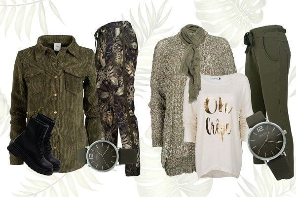 wannahaves fashion army olive green