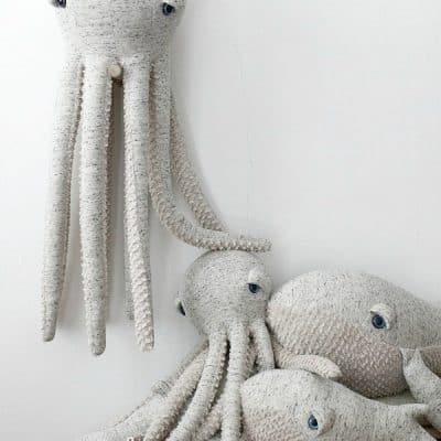 BigStuffed Ocean Animals handgemaakte knuffels van formaat