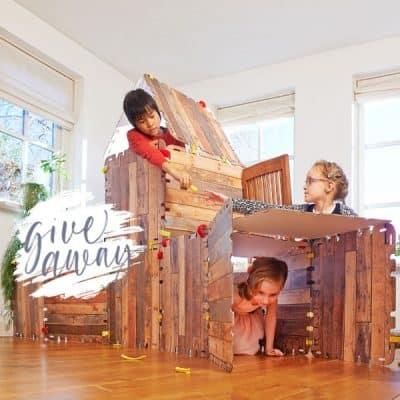 WIN: Fantasy Forts, 34-delig huttenbouw pakket (twv € 29,95) van Trendy Speelgoed