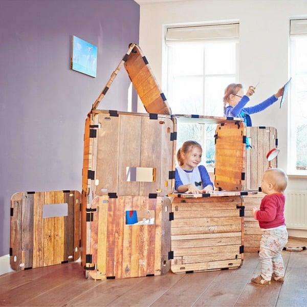 hutten bouw speelgoed