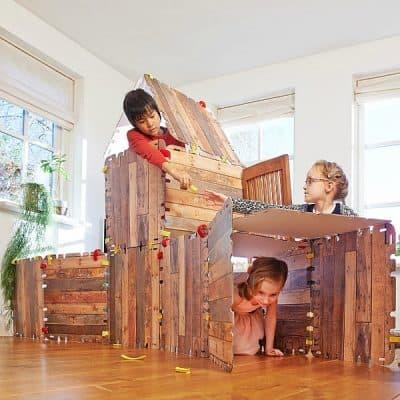 Fantasy Forts, 34-delig huttenbouw pakket (twv € 29,95) van Trendy Speelgoed