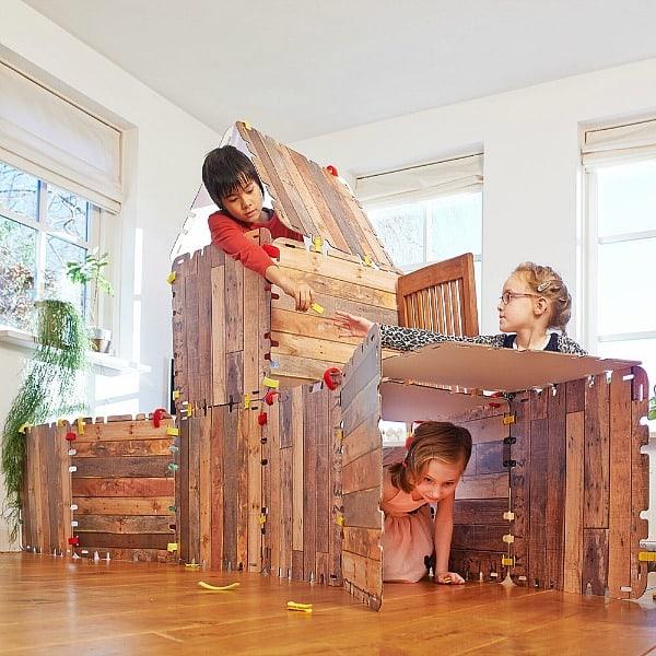 hutten bouwen met fantasy forts